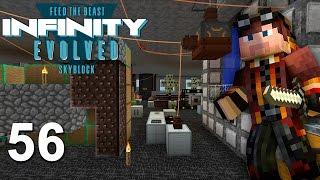 Забористая Техномагия! Прохождение сборки Майнкрафт с модами FTB Infinity Evolved Skyblock #56