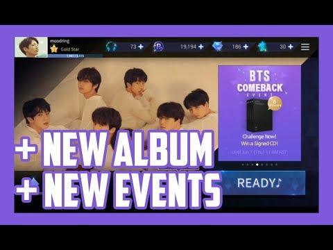 SuperStar BTS: Fake Love update / events