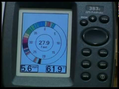 humminbird 383 fishfinder - youtube, Fish Finder