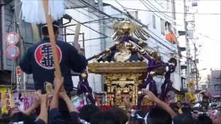 平成28年度  小村井 香取神社 例大祭  【 本社神輿 渡御 】