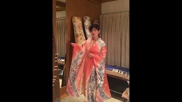 How to put a kimono on / 기모노 착용 방법 / 如何穿和服