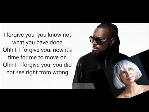 Maitre Gims feat Sia - Je te pardonne ( paroles / LYRICS )