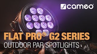 Cameo FLAT PRO® G2 Series - Outdoor Par Spotlights