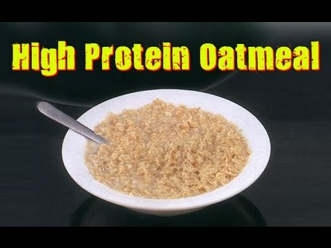 Easy High Protein Oatmeal Recipe