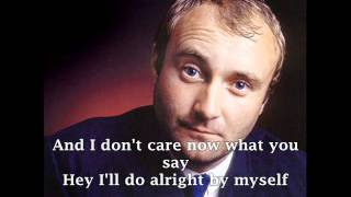 PHIL COLLINS - I DON