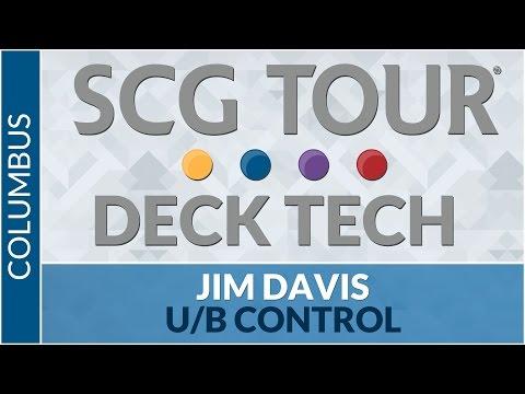 SCGCOL Deck Tech: U/B Control with Jim Davis [Standard]