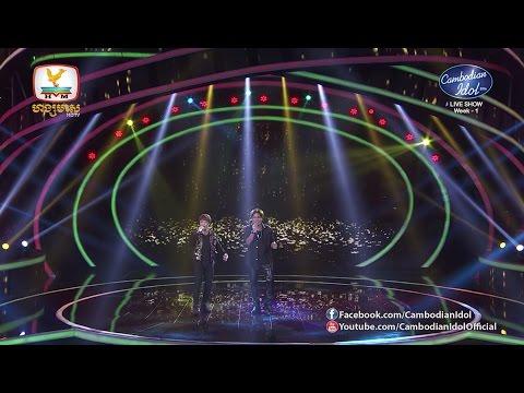Cambodian Idol Season 2   Live Show Week 1   ការបកស្រាយចម្រៀង ពីគណៈកម្មការទាំ4
