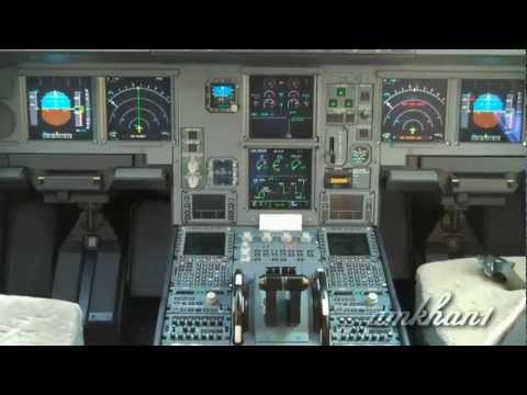 Airbus A330 Cockpit Tour