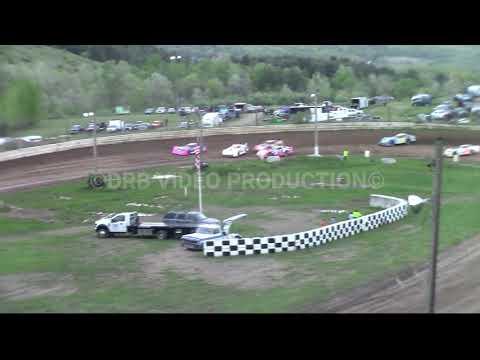 Hidden Valley Speedway Semi Late Model Heat 2 of 2 5-11-19