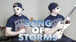 "The Legend Of Zelda ""Song Of Storms"" (Ukulele/Metal Cover)"