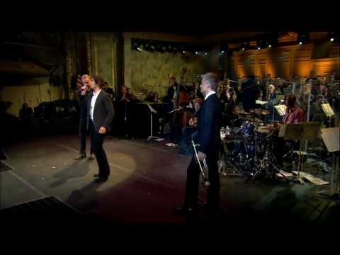 Shape of My Heart (HD) Sting and Josh Groban