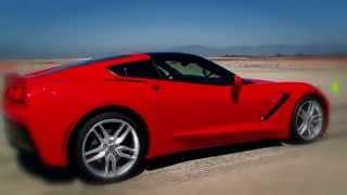 JAY LENO - NEW CHEVROLET CORVETTE STINGRAY - Test Drive