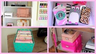 Storage & Organization Ideas - How I Stay Organized + Diy Chanel Box