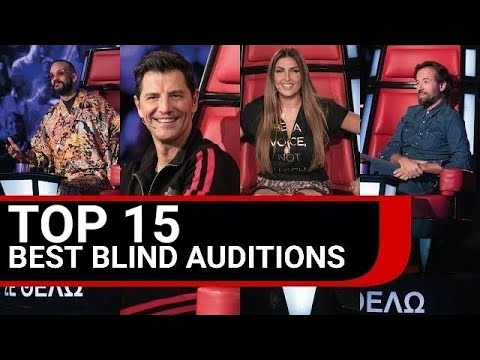 TOP 15 BEST Blind Auditions - The Voice of Greece | Season 3, 2016 - 2017