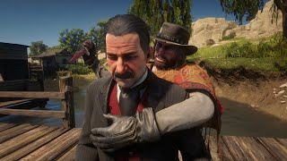 Satisfying Ways To Kill Edgar Ross in Red Dead Redemption 2   Best Moments RDR2 PC