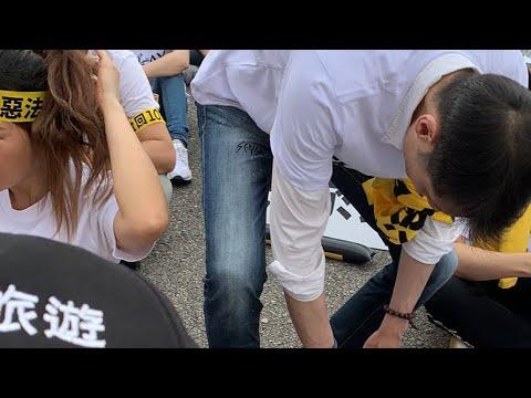 UBER抗議103-1總統府現場04