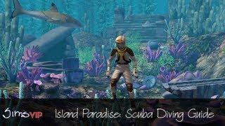 The Sims 3 Island Paradise: Scuba Diving Skill Guide