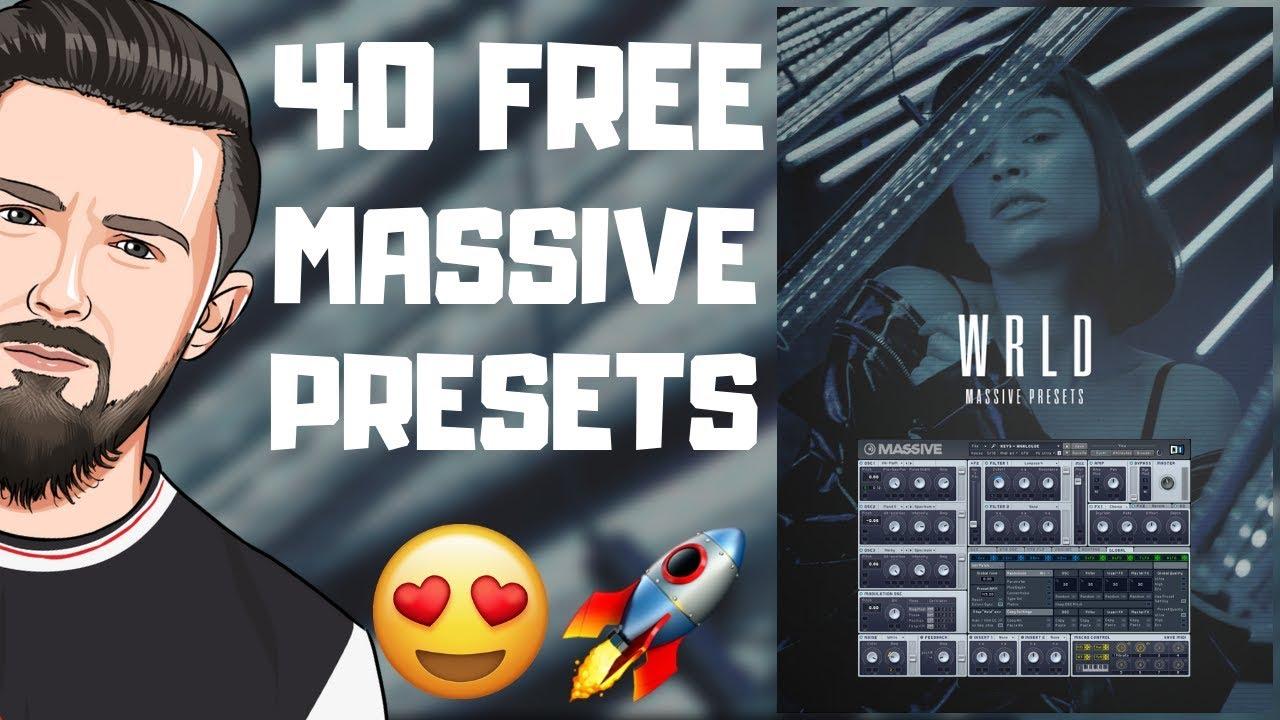 40 FREE MASSIVE PRESETS 2019