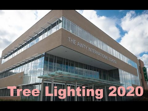 The Awty International School Tree Lighting