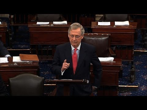 🔴WATCH: McConnell Speaks on Shutdown in Senate - LIVE COVERAGE