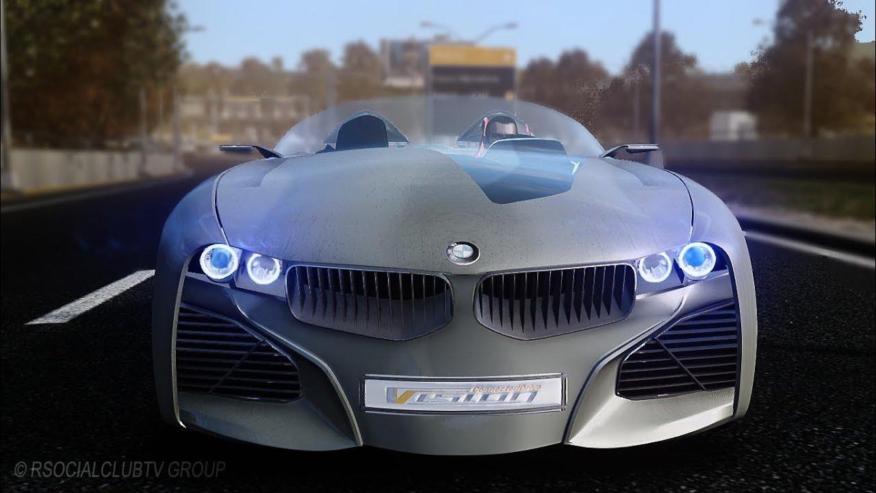 GRAND THEFT AUTO IV BMW VISION CONNECTEDDRIVE CONCEPT COMMERCIAL ...