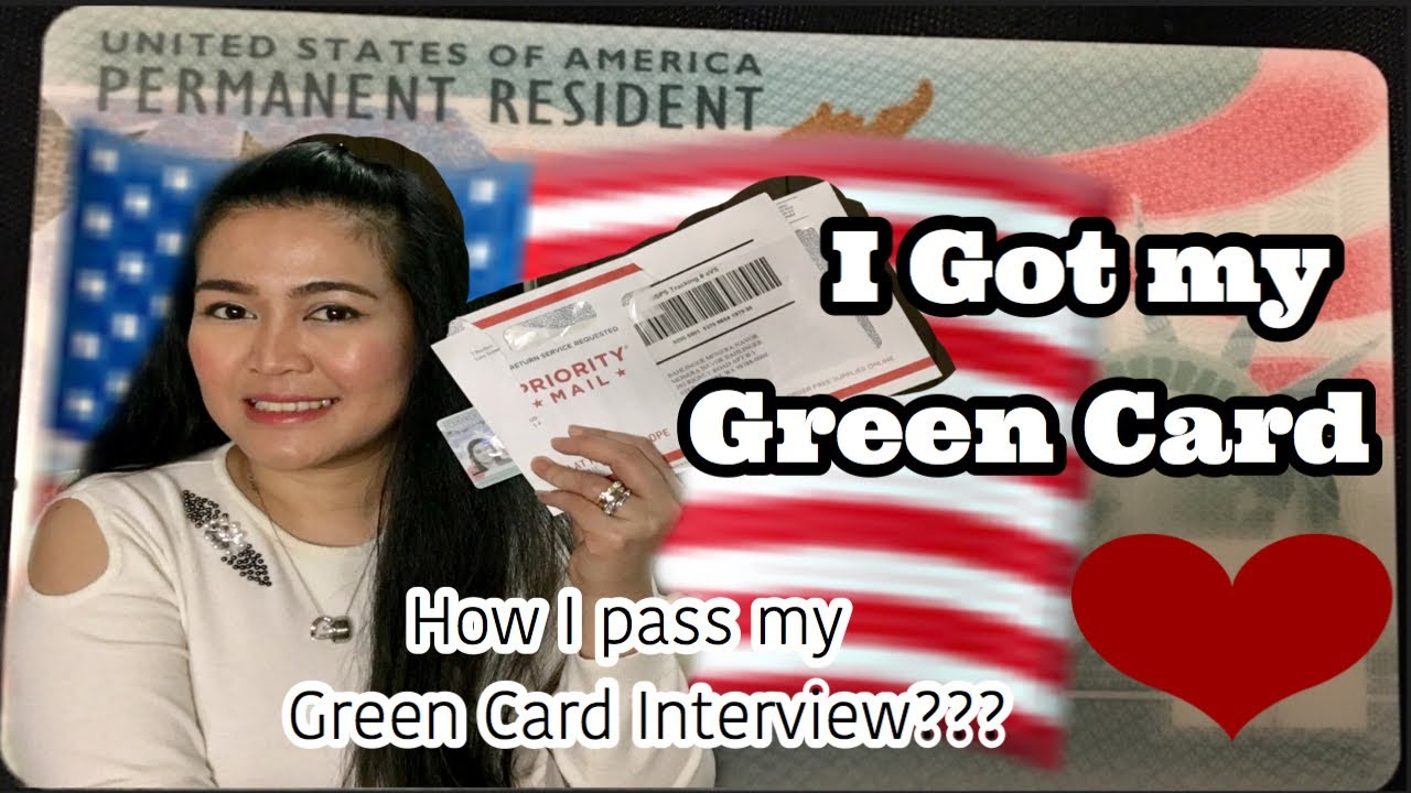 tips and advise to pass green card interview  marriage