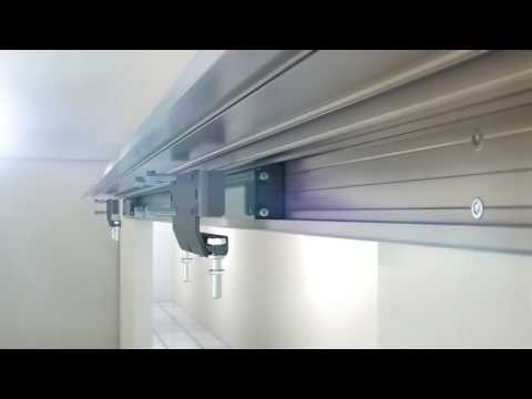 The 116RC Makes Sliding Heavy Doors Easy!