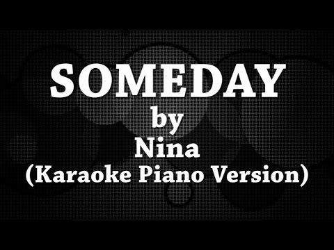 Someday (Karaoke Piano Version) by Nina