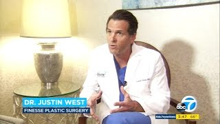 Dr Justin West on ABC 7 discusses the link between breast implants & cancer