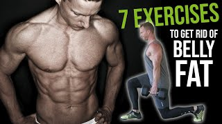 7 of the BEST Exercises to BURN Belly Fat #LLTV