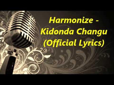 New from Harmonize   Kidonda changu Official Lyrics Video