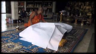 Buddha Magic - RARE FOOTAGE of Secret Ritual of Dying and Rebirth by THAI MONK