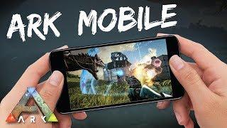 ARK: Survival Evolved Mobile - ВЫШЛА! 100% ПОРТ С ПК? (ОБЗОР ИГРЫ)