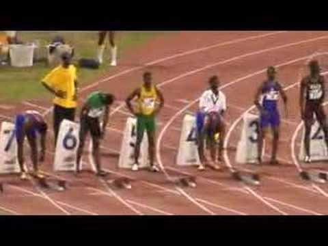 Jamaica - Boys Champs 2007 - 100m - All Classes