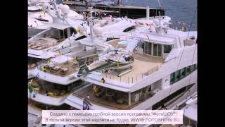 Монако. Супер яхты.(, 2015-06-19T09:41:37.000Z)