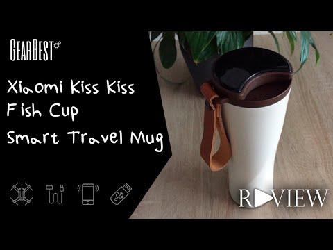 Xiaomi Kiss Kiss Fish Cup   Smart Travel Mug