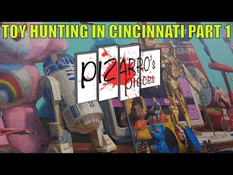 Pizarro's Pieces - Toy Hunting In Cincinnati Part One