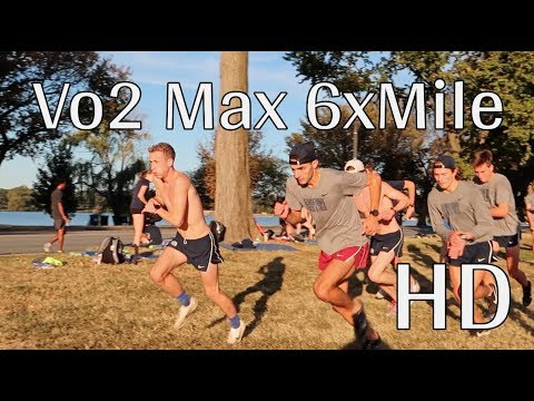 EXCLUSIVE HD VO2 MAX MILE REPEATS *4:40s*