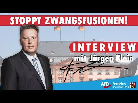 Jürgen Klein (AfD): Zur Kommunal- und Verwaltungsreform