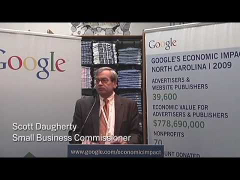 Google's Economic Impact - North Carolina 5/25/10