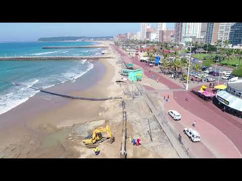 Sand Replenishment Initiative - Durban Beachfront - May 2018