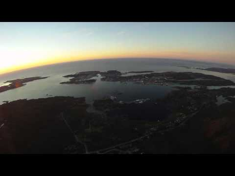 Floating over Kristiansund