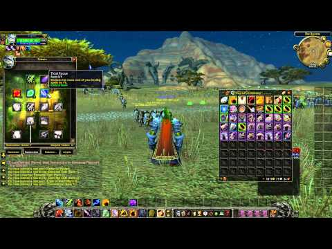Heroes WoW 255 Funserver - Leveling Road 1-255 Starting a New Character 1080p