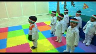 Jana Gana Mana by Kool Commandoz Play school kids
