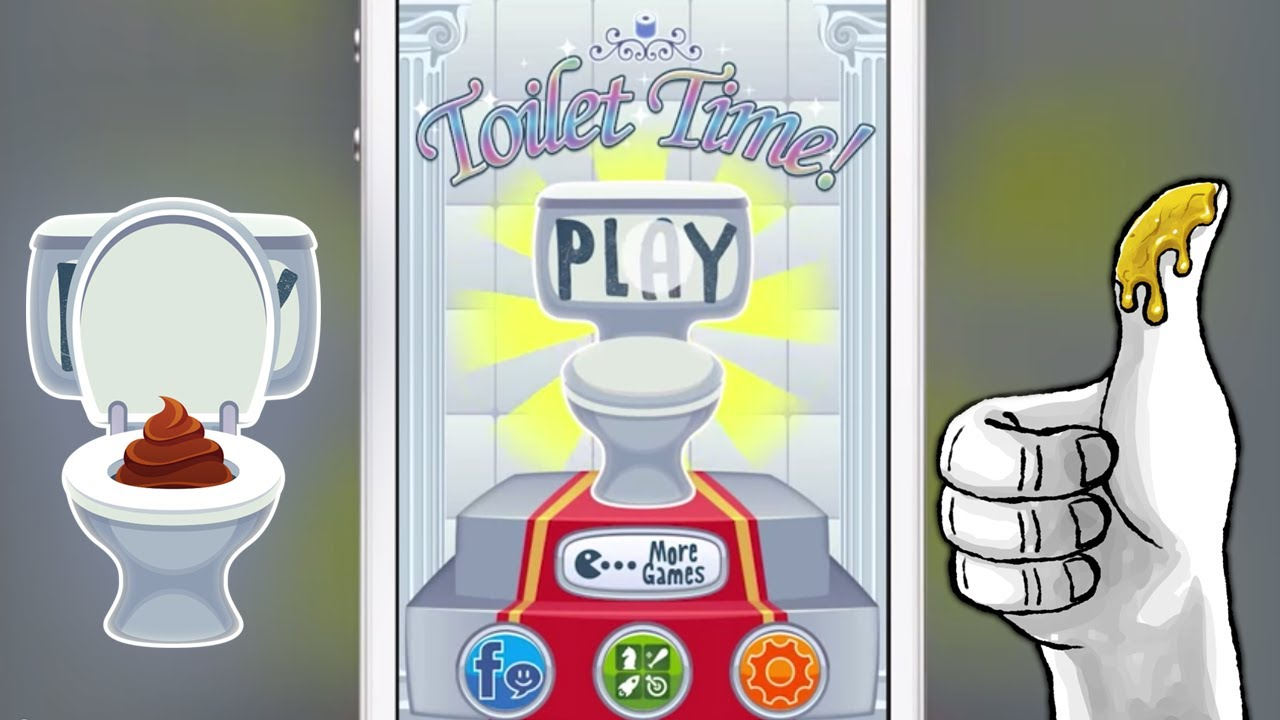 Toilet time mini games to play on the for iphone