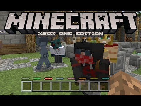 Minecraft: Xbox One Edition [Battling with Friends]