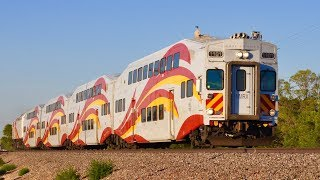 Commuter Trains Galore HIGHLIGHT REEL