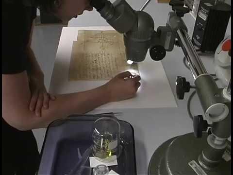 Sam Houston Letter Conservation Documentary Part 2