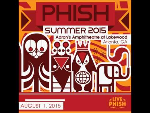Phish 08-01-2015 - FULL SHOW - Aaron's Amphitheater, Atlanta GA - Soundboard
