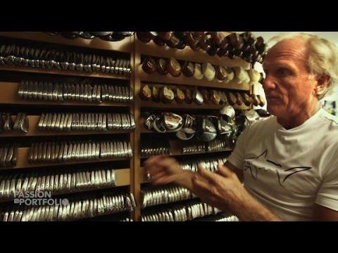 Go inside Greg Norman's prized golf room